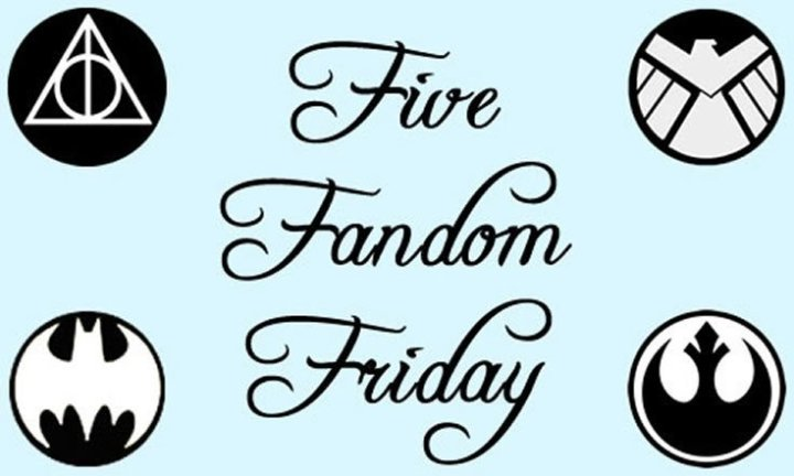 Five Fandom Friday - My OTP!