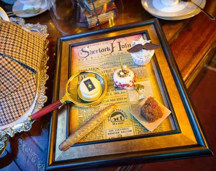 Sherlock Holmes Afternoon Tea at Taj