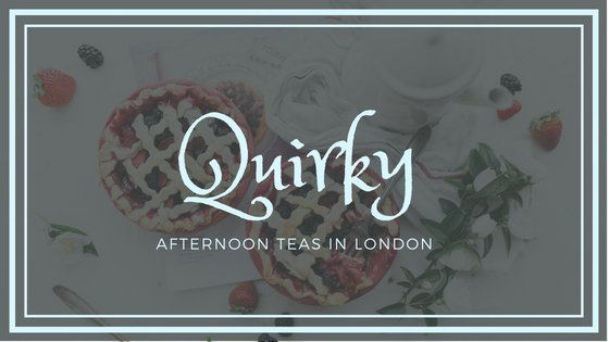 Quirky Afternoon Tea in London