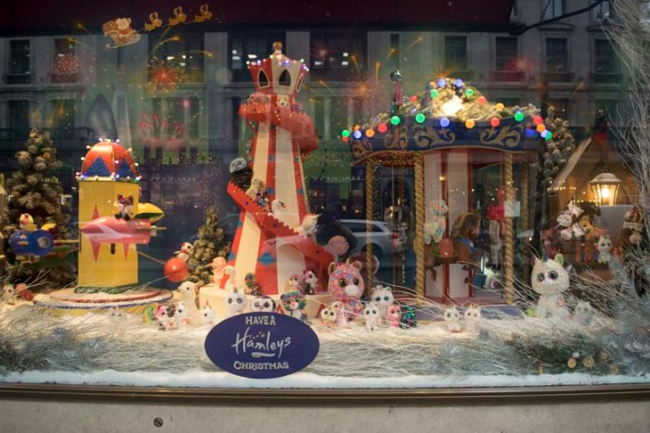 Hamley's Christmas Window