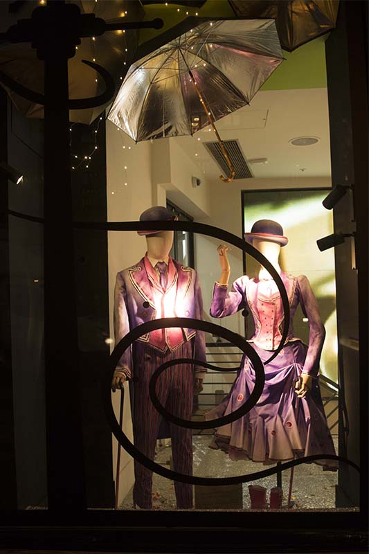 Mary Poppins Window at Harvey Nicks