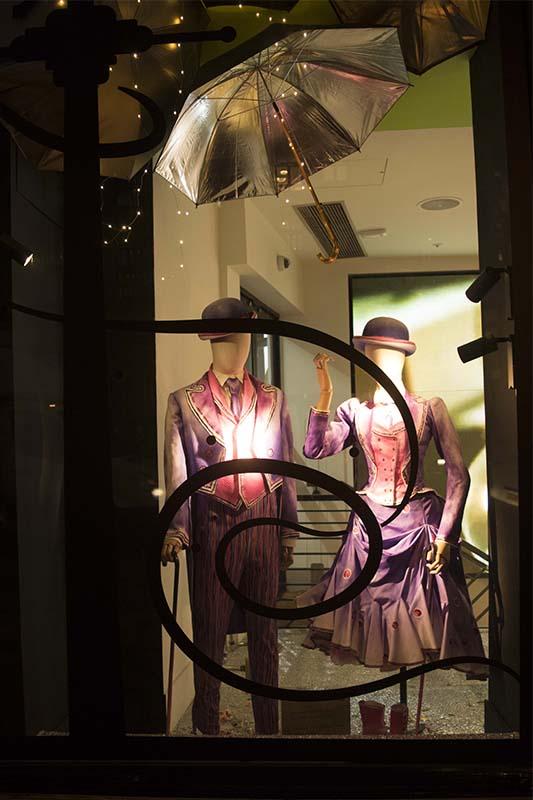 Mary Poppins Window at Harvey Nicks