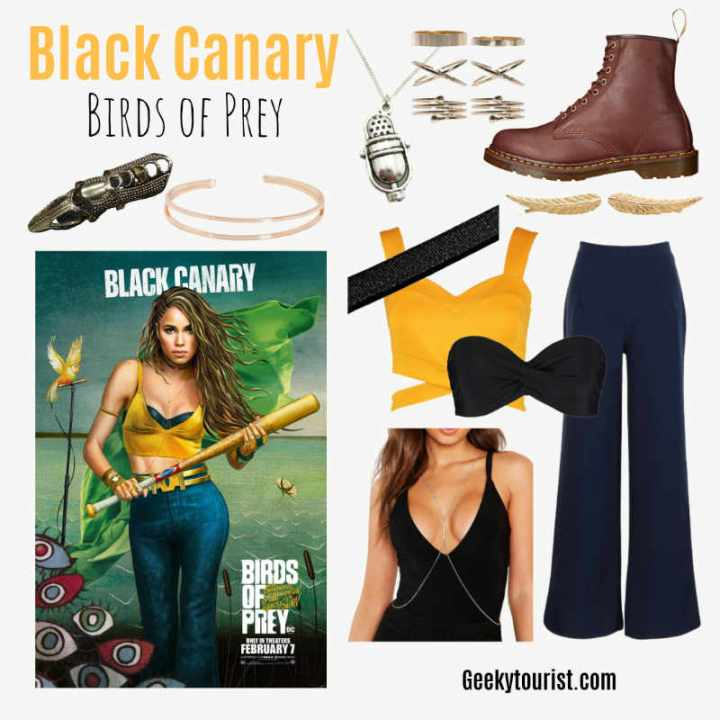 Black Canary Everyday Cosplay
