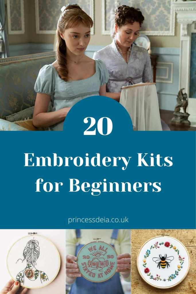 20 Embroidery Kits for Beginners