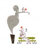 """<h5>Sieste au Musée</h5><p>Extrait de """"Une Petite sieste et je me recouche !"""", auteur : Cindy Chapelle, illustrations : PrincessH, éditions Plume de Carotte, 2017.</p>"""