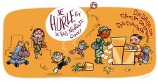 <h5>Savoir-vivre en zones d'accueil : enfants</h5><p>Pour la Mairie de Villejuif. Dessin : PrincessH 2007</p>
