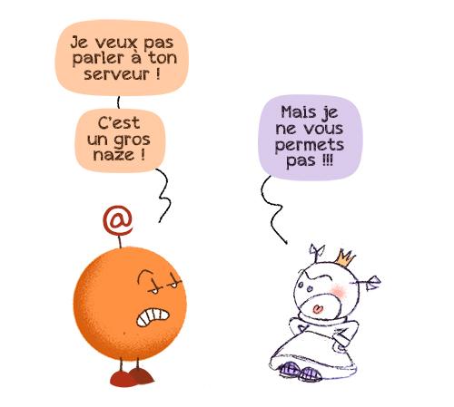 PH & et le serveur d'Orange