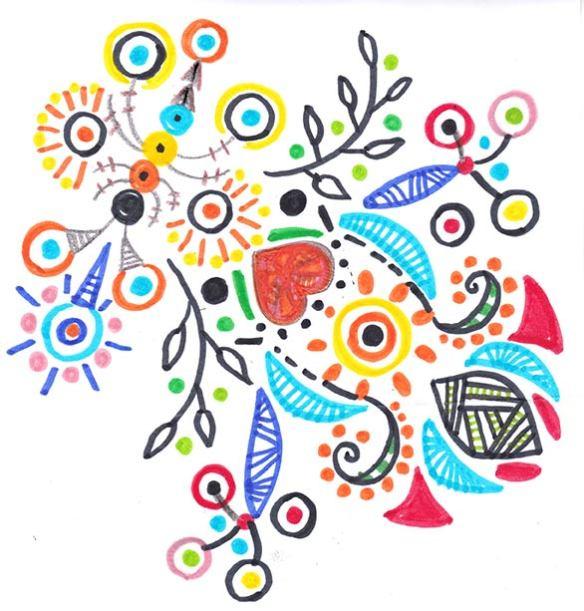 Motif multicolore by PrincessH