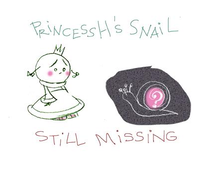 Snail Bob is still missing