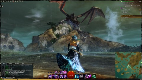 Battling Tequatl is always a good way to spend your time in Guild Wars 2
