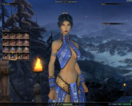 Character Creation Guild Wars
