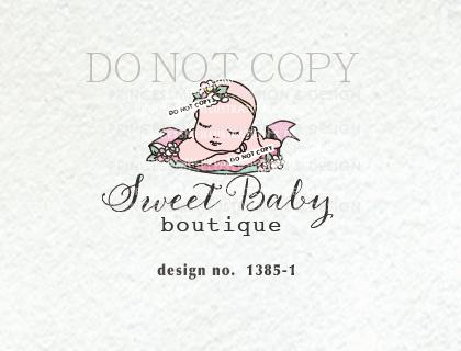 1385-1 baby logo design, newborn logo design, baby