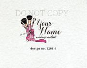 1208 -1 makeup artist logo