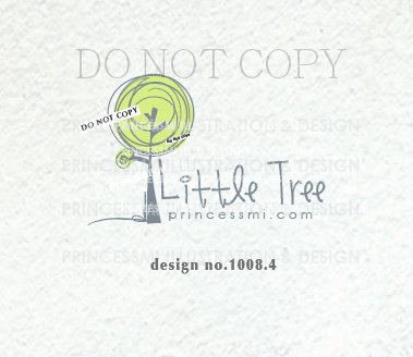 1008 4 Tree Logo Design Lime Green Tree Watermark Photography Logo Business Watermark Logo Boutique Hand Craft Business