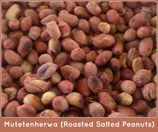 Mutetenherwa (Roasted Salted Peanuts)