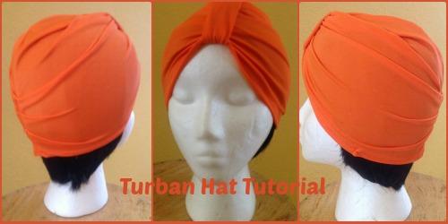 Turban Hat Tutorial
