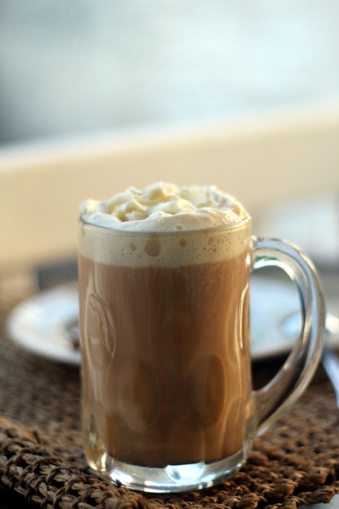 Caramel Vanilla Chai Latte