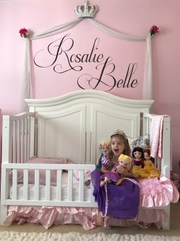 A bedroom fit for a princess