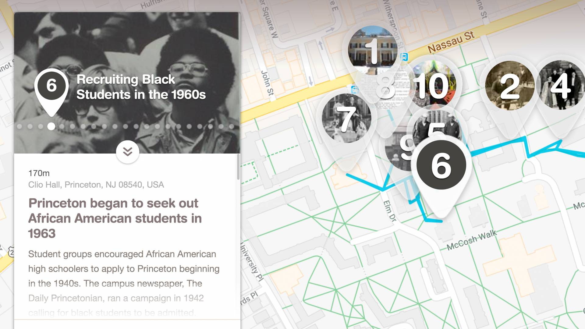 medium resolution of african american life at princeton is first in series of historical walking tours