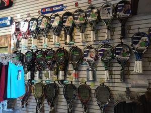 Pro shop at Princeton Racquet Club