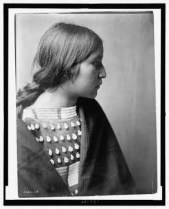 Arikara devojka, 1908.