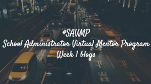 #SAVMP Week 1