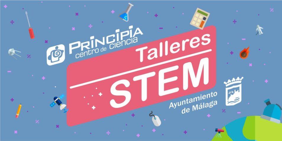 Talleres STEM en colaboración con el Ayuntamiento de Málaga