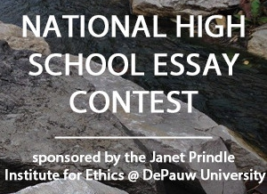 2016 2017 Prindle Institute High School Essay Competition The