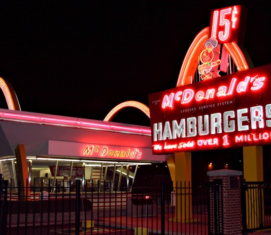 """McDonald's #1 Store Museum, Des Plaines, Ill."" by Jerry Huddleston liscened under CC BY 2.0 (via Flickr)."