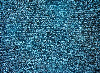 Photo of television static