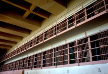 photograph of an open cell block