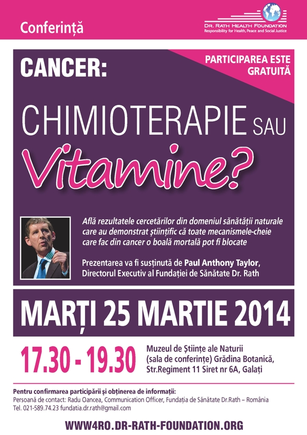 Conference-Romania-cancer