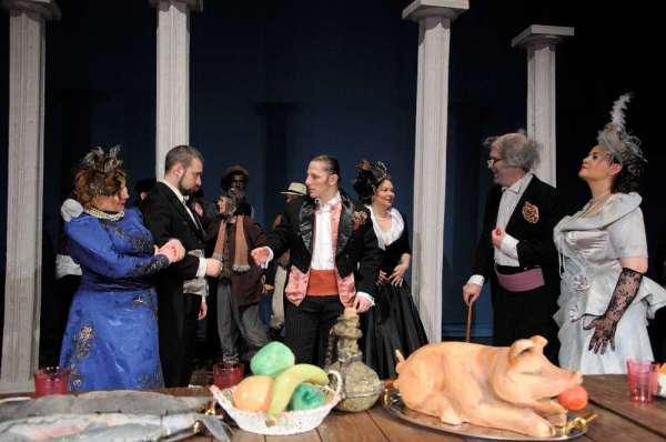 Premiera  la Teatrul Dramatic imblanzirea scorpiei Galati