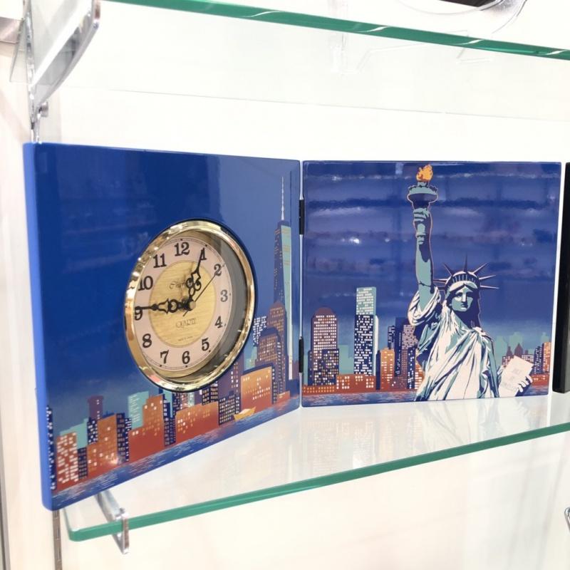屏風時計ニューヨーク