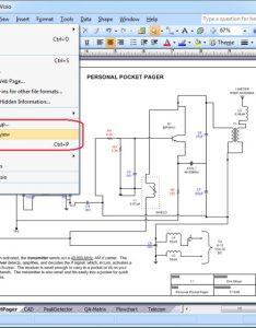 Visio file menu also save as pdf universal document converter rh print driver