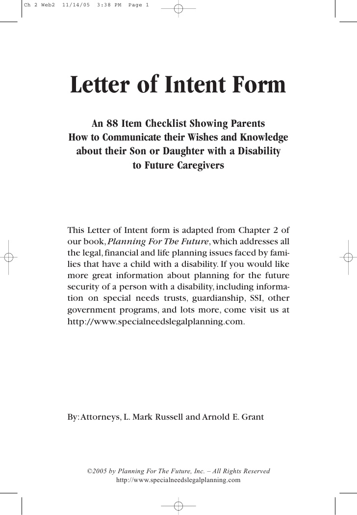 Letter Of Intent Template  Real Estate Forms