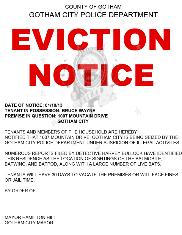 Free Printable Blank Eviction Forms