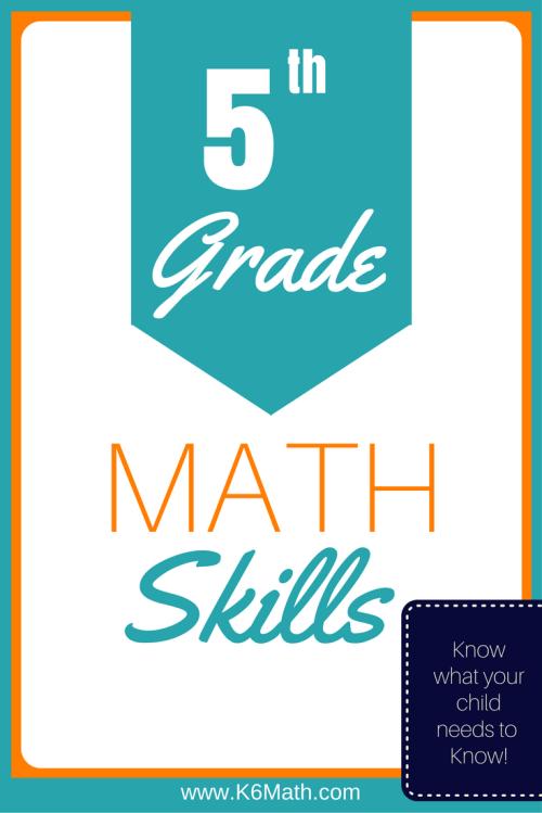 small resolution of 5th Grade Skills