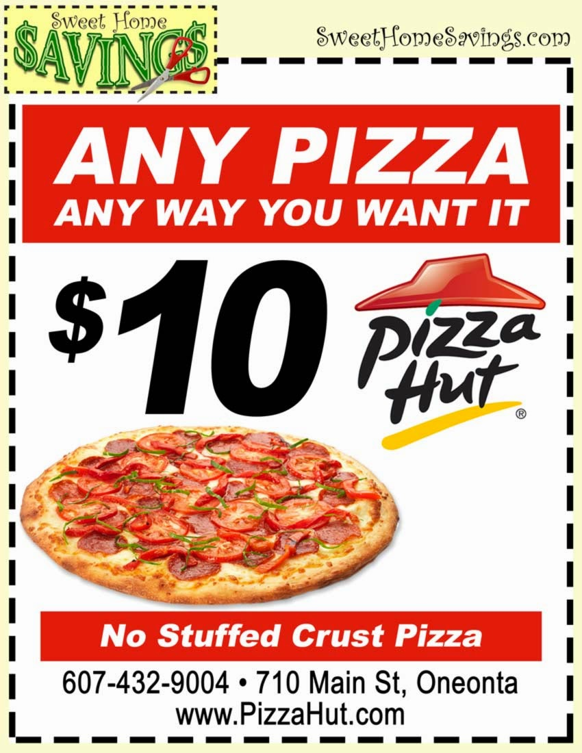 Get Your Pizza Hut Coupon  Printable Coupons Online