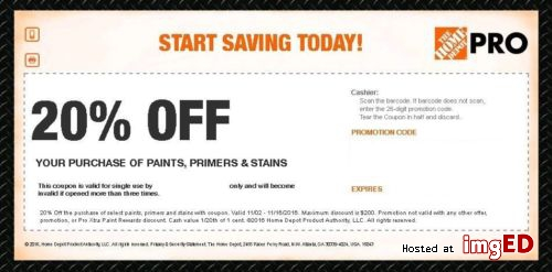 HOME DEPOT March Coupons | Printable Coupons Online
