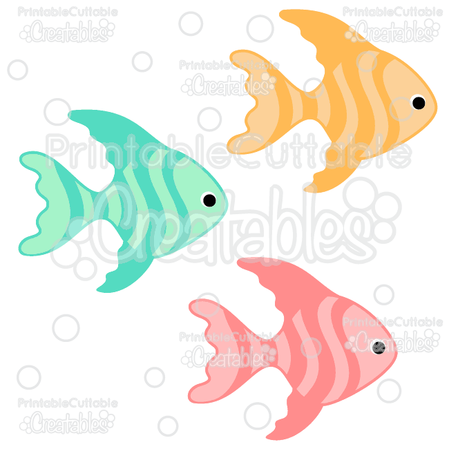 tropical fish free svg
