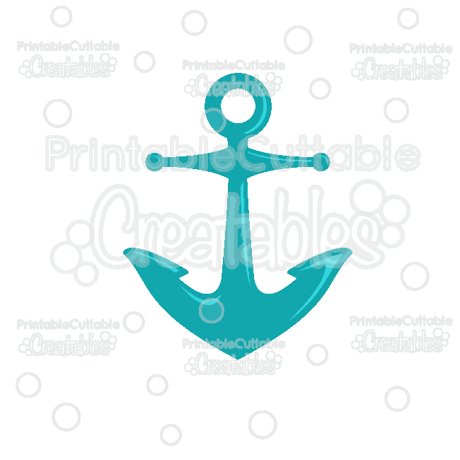 Download Ship Anchor Free SVG Cut File & Clipart for Silhouette ...