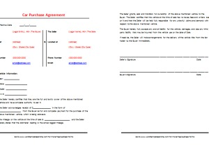 used car contract template - April.onthemarch.co