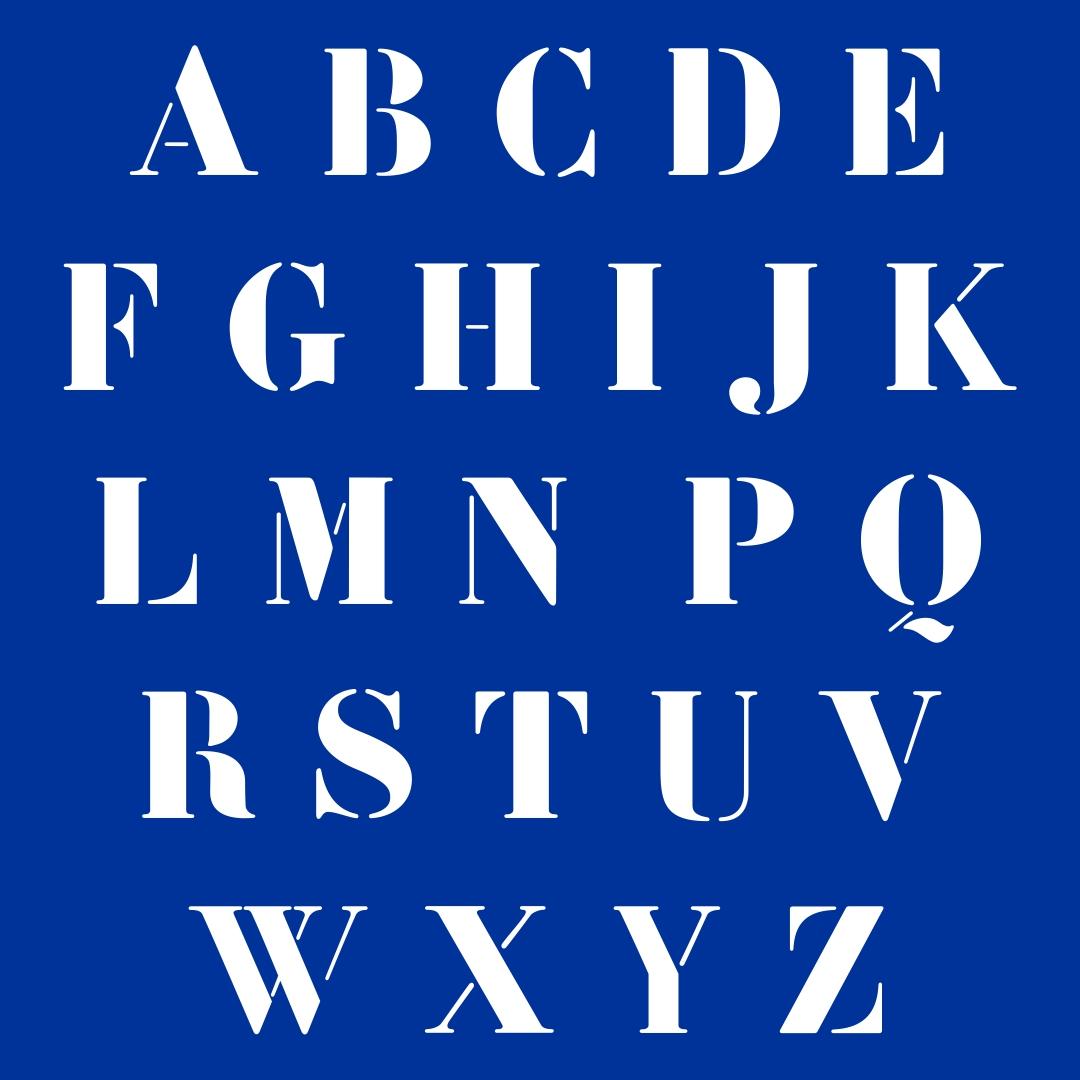 6 Best Printable Large Script Letters