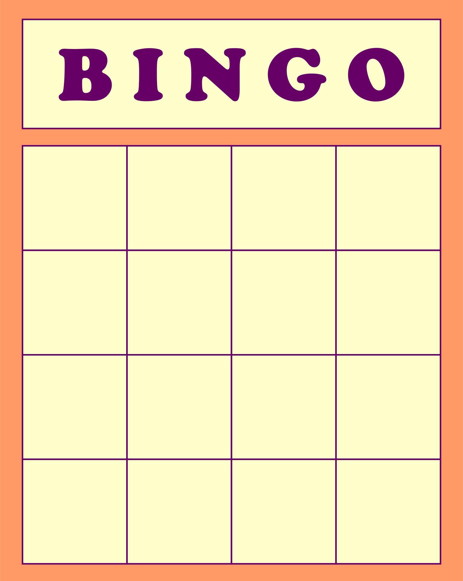 9 Best Images Of Printable Human Bingo Templates