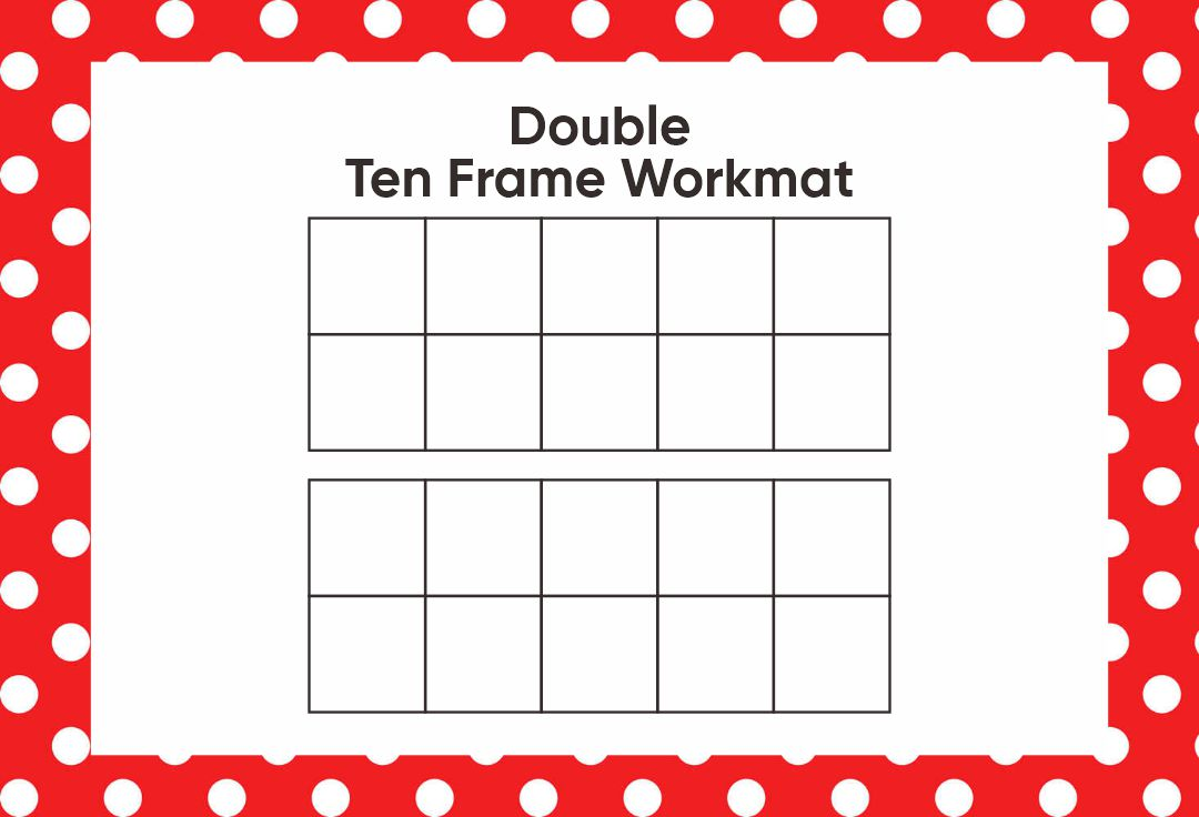 6 Best Images Of Blank Double Ten Frame Printable