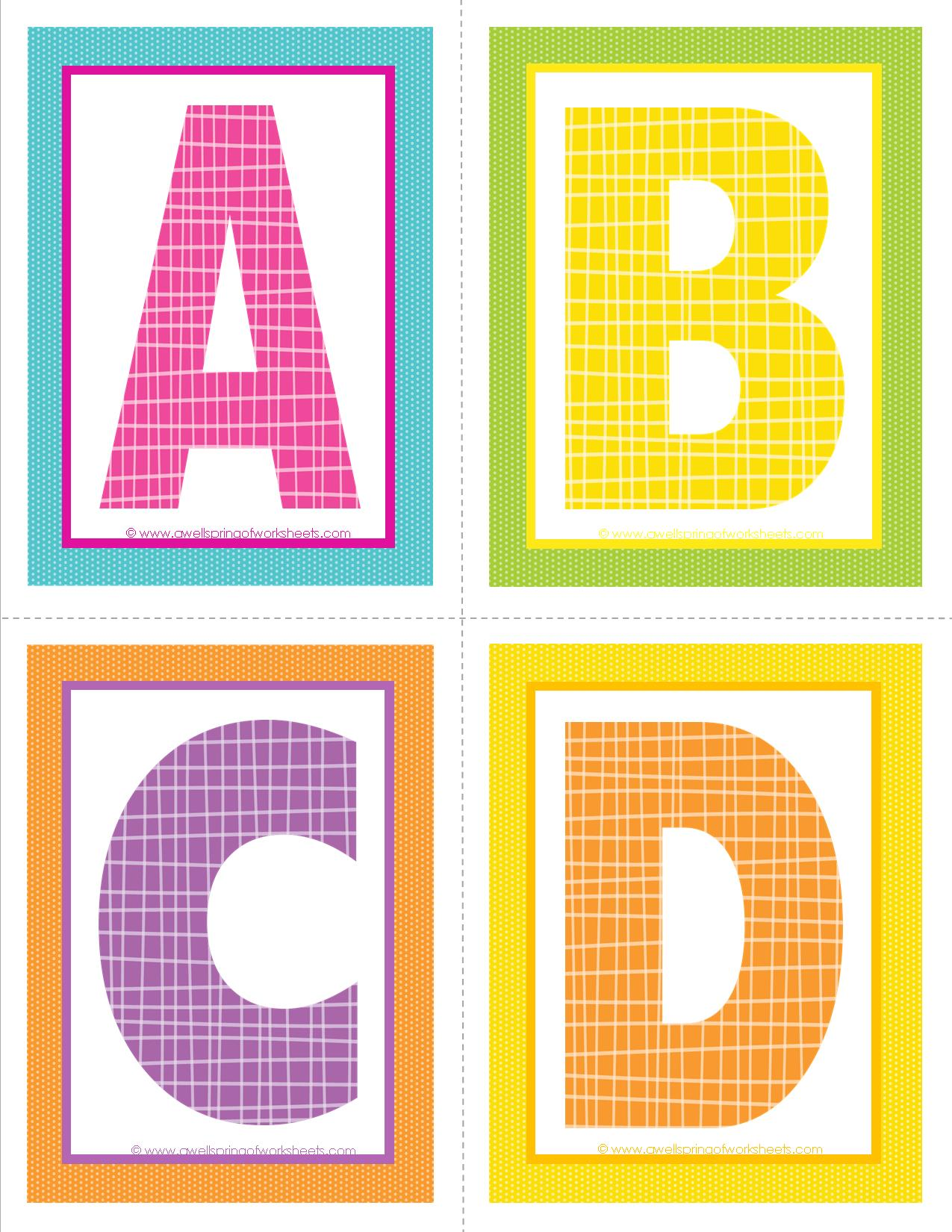 5 Best Images Of Medium Printable Letters