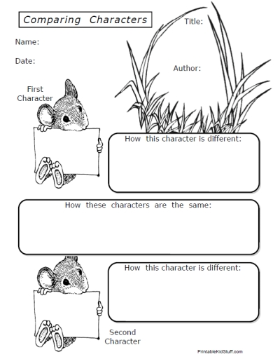 All Worksheets » Compare And Contrast Worksheets Middle