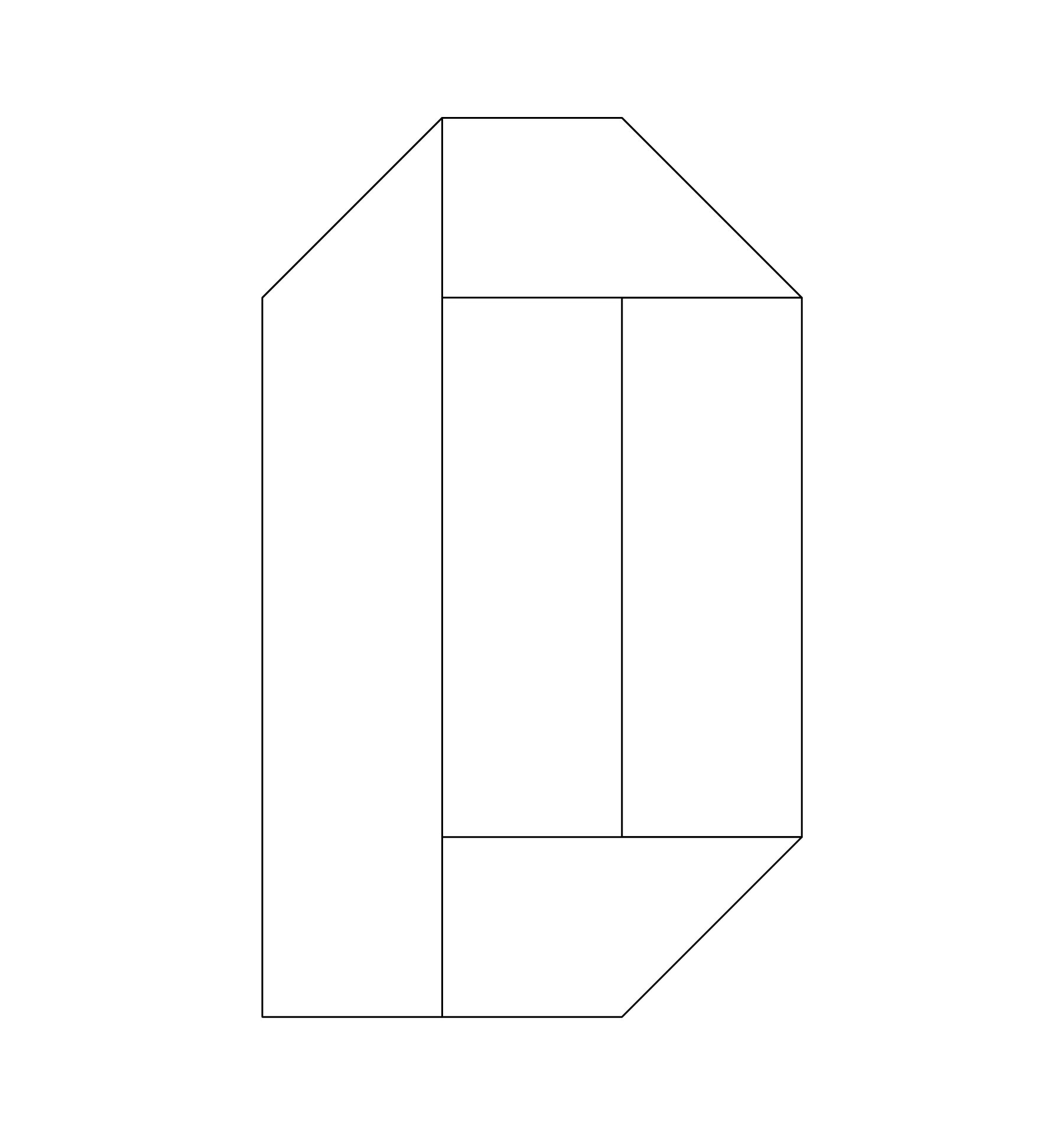 4 Letters Inch Bubble Template