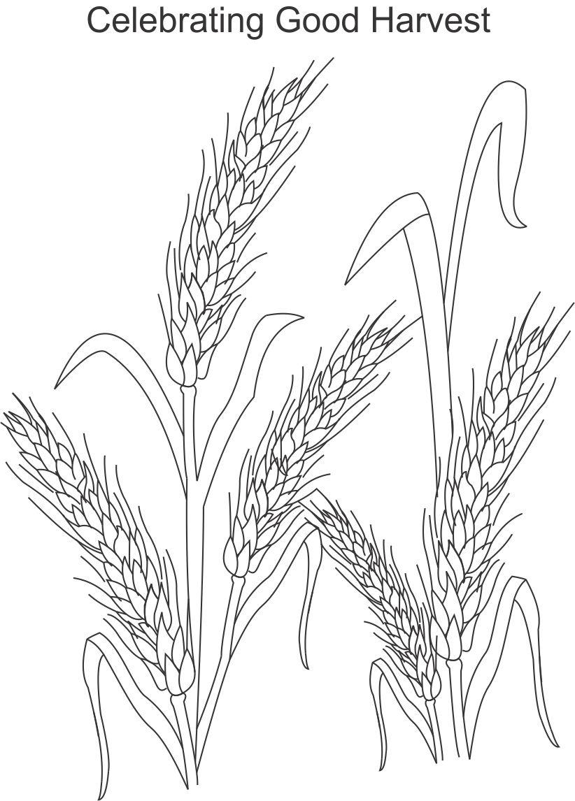 5 Best Images of Harvest Festival Printable Coloring